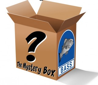 The mystery box arrives bass anglers for Fishing mystery box
