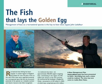The fish that lays the golden egg