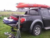 Improvised camping