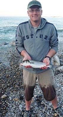 A lure caught Bass