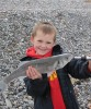 The future: Young bass and young angler