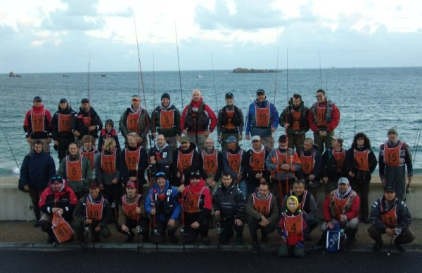 UK French and Jersey bass anglers