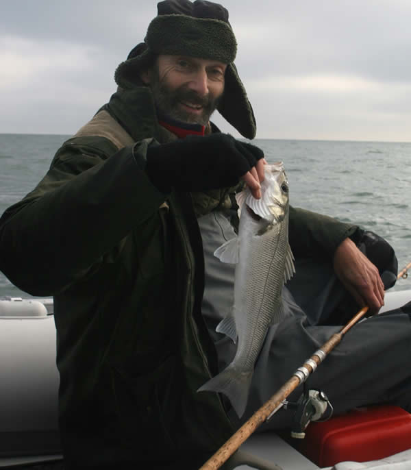 "A ""sea perch"" on a cold November day for Chris"