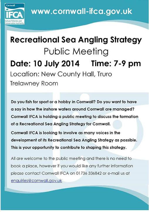 Cornish RSA Meeting