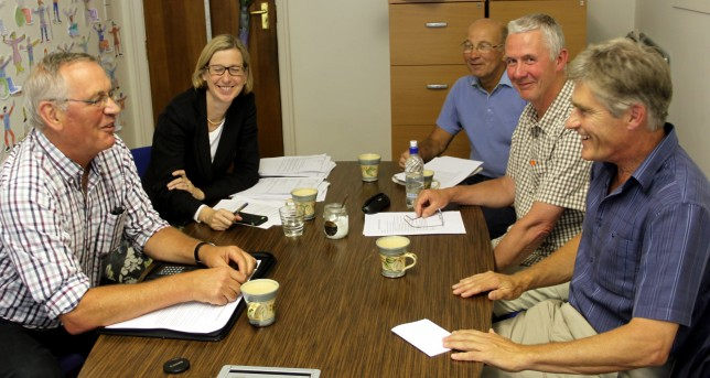 Meeting with the local MP