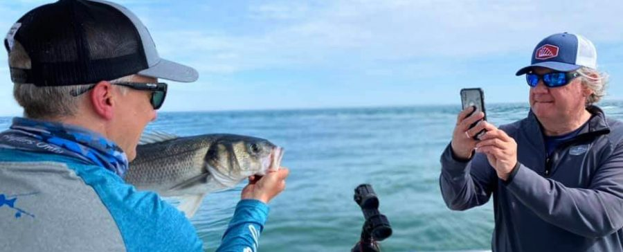 Boat Fishing For Bass